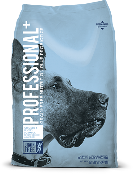 Chicken & Lentils Formula for Large Breed Adult Dogs