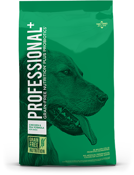Product Bag of Chiken and Pea Formula for Dogs | Professional Plus Pet Food