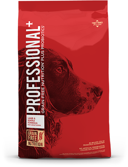 Product Bag of Lamb and Lentils Formula for Adult Dogs | Professional Plus Pet Food
